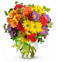 Bouquet Special offer! Summer kiss. Vase for free!