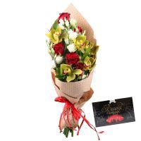 Bouquet Искренность любви +Конфеты «Вишня в шоколаде»