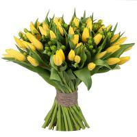Bouquet Yellow tulips
