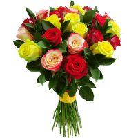 Bouquet Mix roses 25 pc