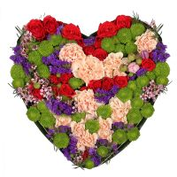 Bouquet Tenderness heart