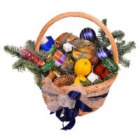 Buy New Year Basket - Happy Celebration online with delivery