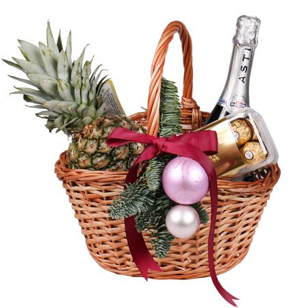 Product Christmas basket 'Winter evening'