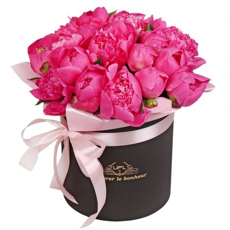 Bouquet Peony in a box