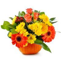 Bouquet Pumpkin Holiday