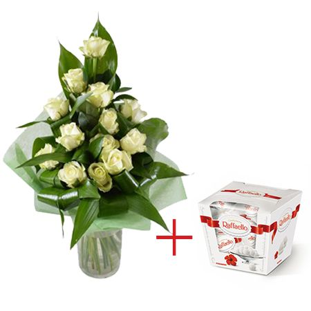 Bouquet Sweet dawn + Raffaello