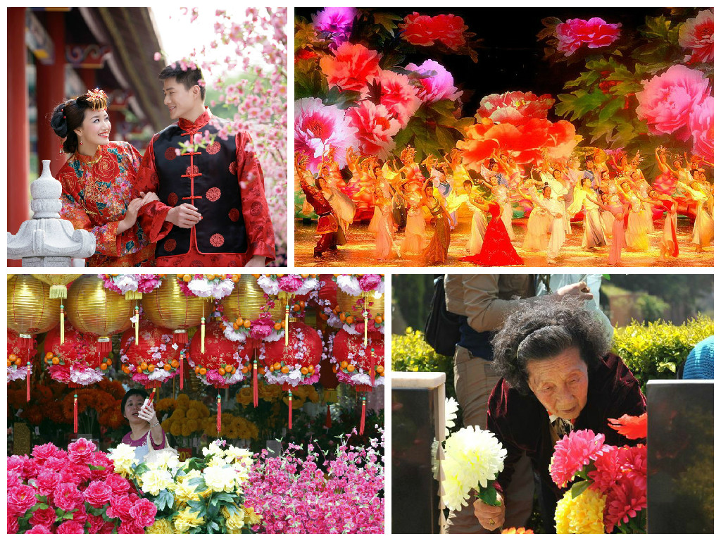 Flowers in China