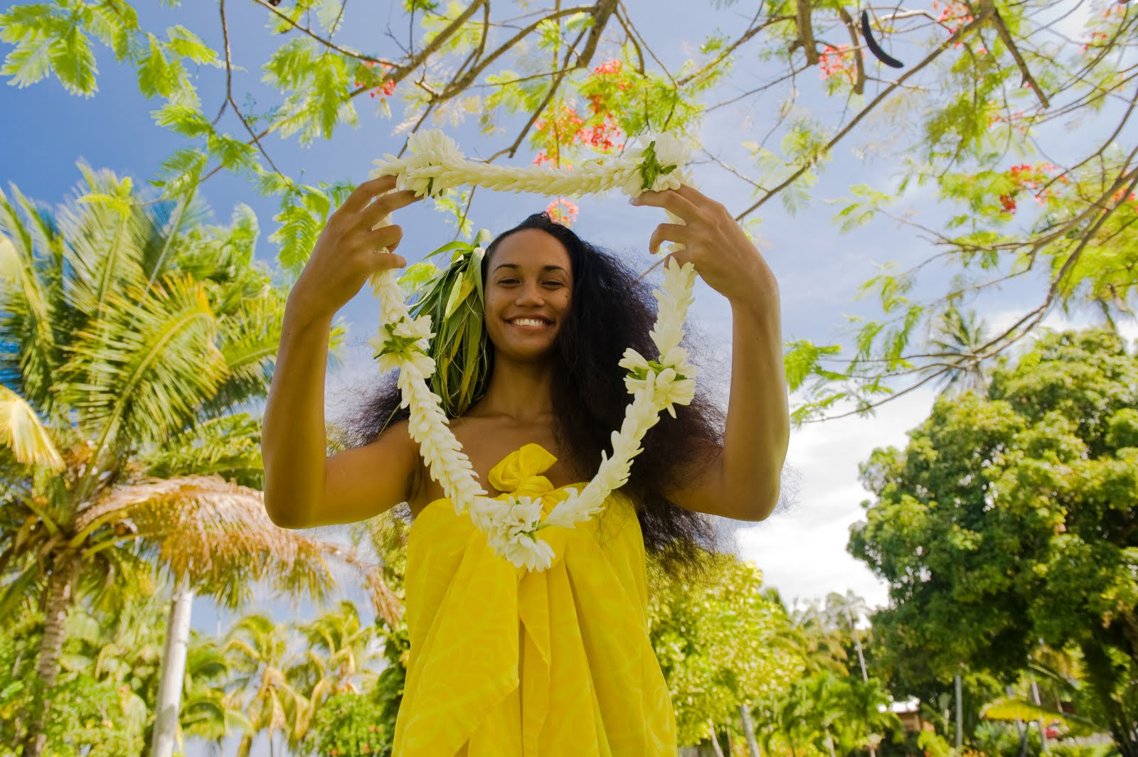 Flowers in Tahiti