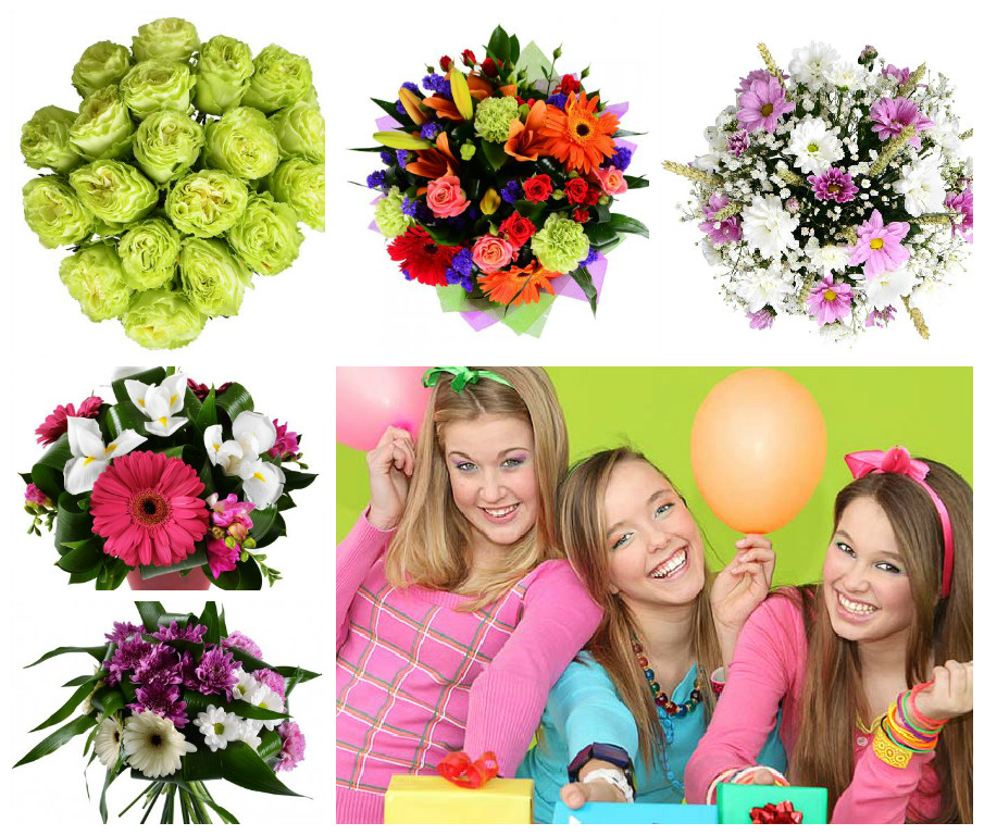 Flowers for teenagers